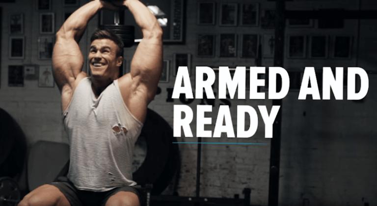 プロボディビルダー【 カルム・ボン・モガー 】直伝の上腕二頭筋・三頭筋トレーニング|腕の日