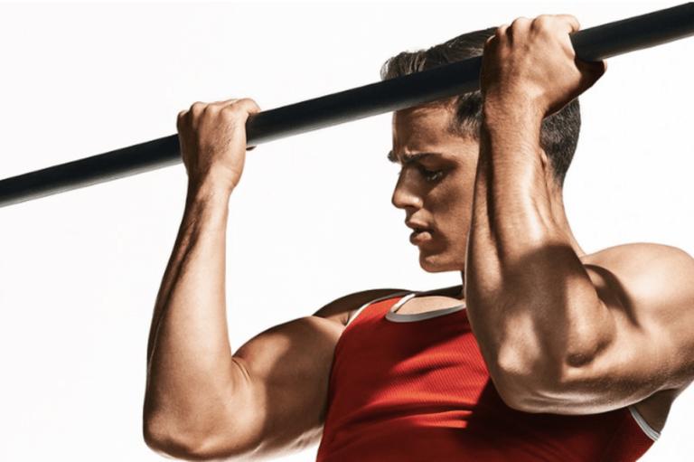 上腕サイズ45cmを目指すなら逆手懸垂( チンアップ )を上腕二頭筋の筋トレメニューに取り入れよう