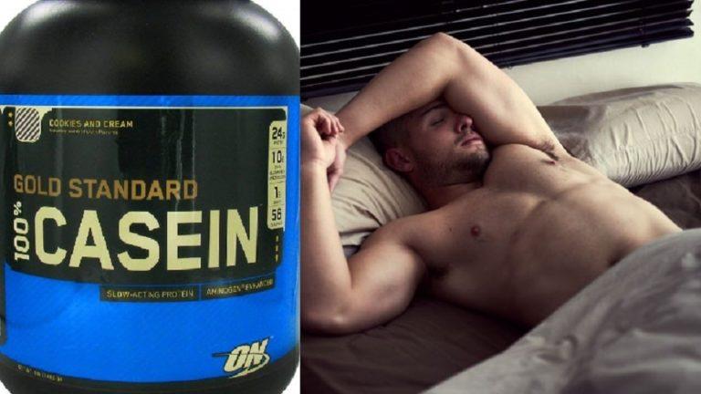 寝る前のプロテイン 摂取は筋肥大を加速させるか、それとも太るか