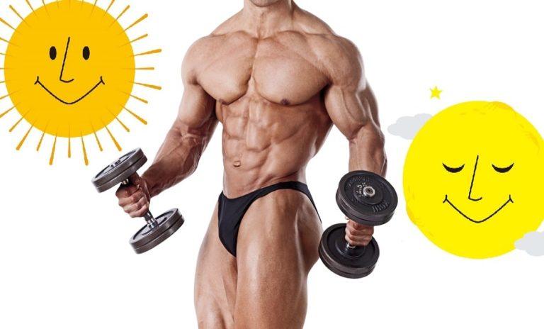 筋肥大に最適な 筋トレのタイミング は朝か夜か?